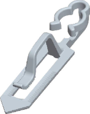 25CT ClayTile Roof Clip