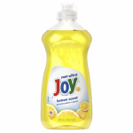 PROCTER & GAMBLE 21737 14 OZ, Joy Liquid Dish Soap, Lemon Scent, Non-Concentrate.<br>Made in: