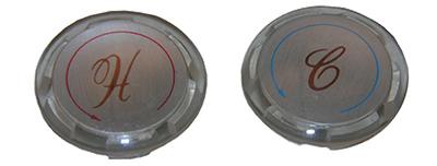 Delta 1-5/16 Ins Button