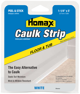 "1-1/4""x5WHT Caulkstrip"