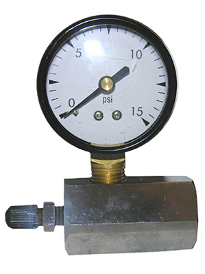15PSI Gas Test Gauge