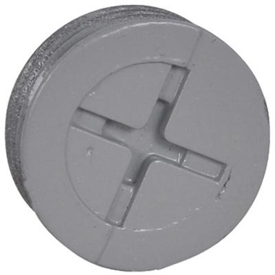 ME 3PK GRY 1/2Clos Plug - Woods Hardware