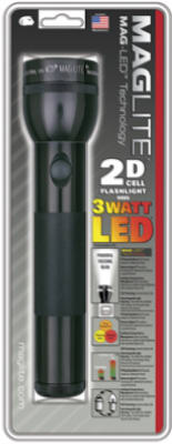BLK 2D LED Flashlight