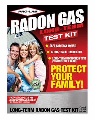 L Radon Gas Test Kit