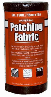 "6""x50 BLK FBG Fabric"