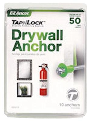 10PK Wall Anchor/Screw