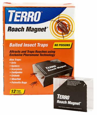12PK Roach Magnet Trap