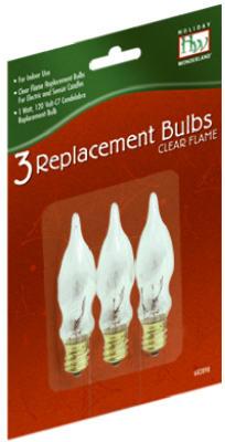HW3PK C7Fros Flame Bulb