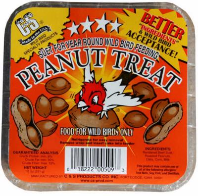 11OZ Peanut Suet Cake