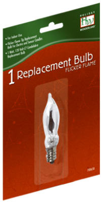 HW C7Flicker Flame Bulb