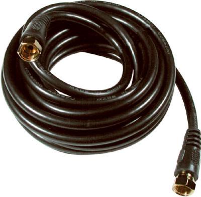 12 BLK RG6 Coax Cable