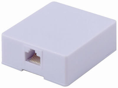 RJ45 Surface Wall Jack - Woods Hardware