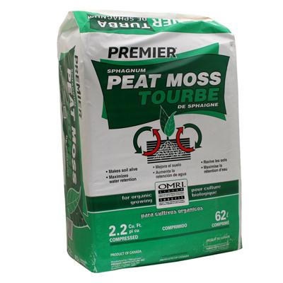 2.2CUFT Sphag Peat Moss