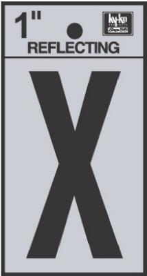 """1"""" BLK Letter X"""