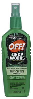 Off6OZ Deep Woods Spray