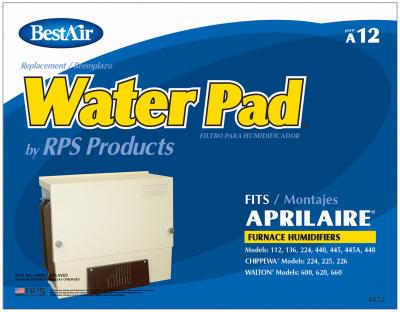 Furn Humidifier WTR Pad