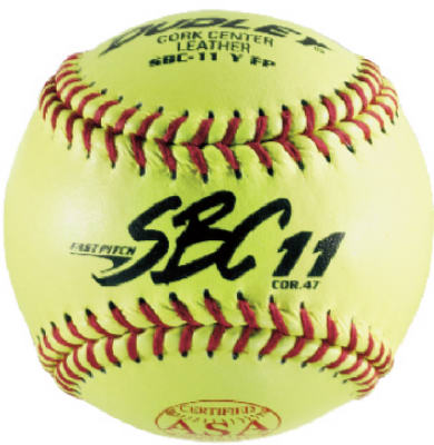 "11"" Fast Pitch Softball"