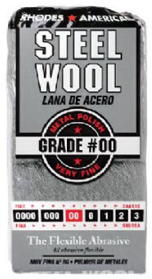 12PK #00 STL Wool Pad