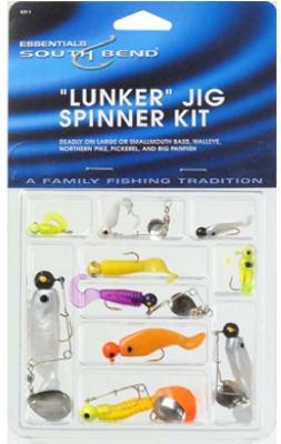 10PK Lunker Spinner Kit