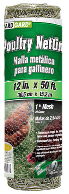 "12""x50 1""Poult Netting"