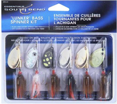 6PK Lunker Spinner Kit