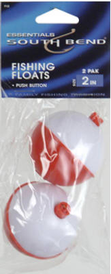 "2PK 2"" RED/WHT Float"