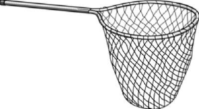 BLK Poly Landing Net
