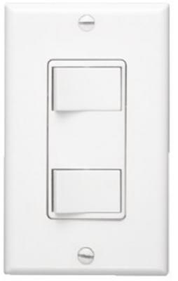 WHT 2 Func Wall Switch