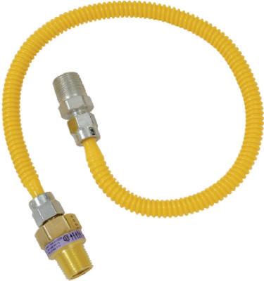1/2x24 Saf GasConnector