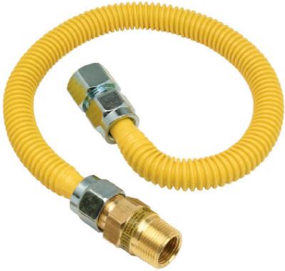 3/4x48 Saf GasConnector
