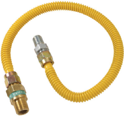 1/2x18 Saf GasConnector