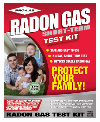 Pro Radon Gas Test Kit