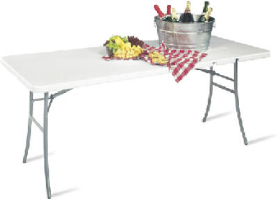 30x72 Center Fold Table - Woods Hardware