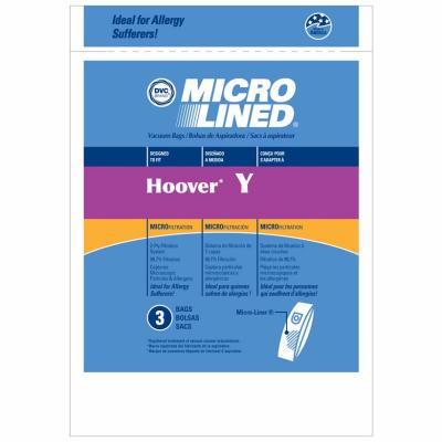 Hoover 3PK Y Allerg Bag