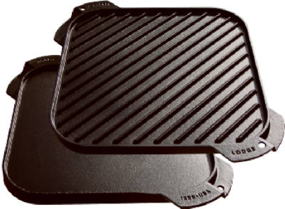 "10-1/2"" SQ CI Griddle"