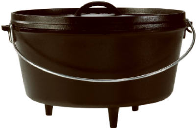 "12"" 8QT CI Dutch Oven"