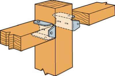 2x4 Fence Bracket Z-Max