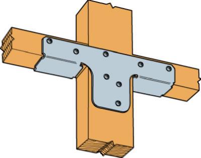2x Rigid Tie Connector