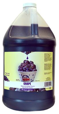 Sno-Kone GAL Grap Syrup