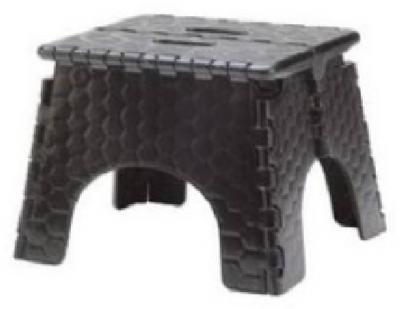 EZ Fold BLK Stepstool