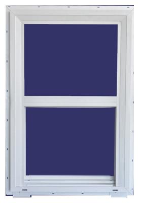 3x3 WHT Vinyl Window