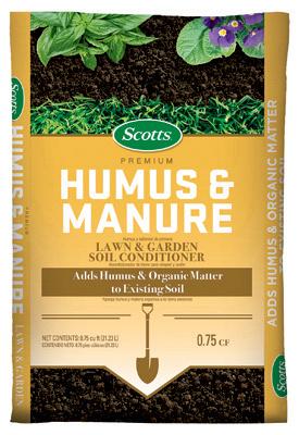 .75CUFT Humus/Manure