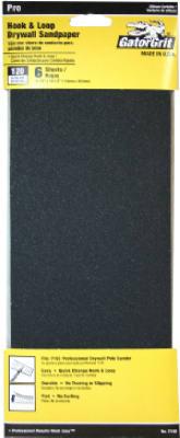 6CT 120G Dry Sandpaper