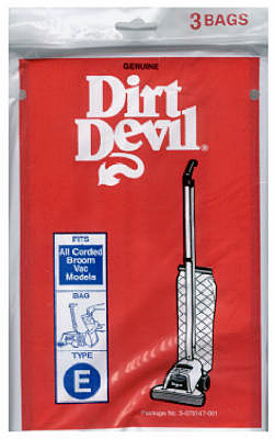 3PK Dirt Devil E Vac