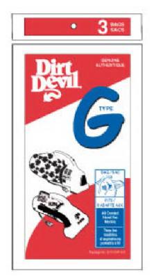 3PKDirt Devil G Vac Bag