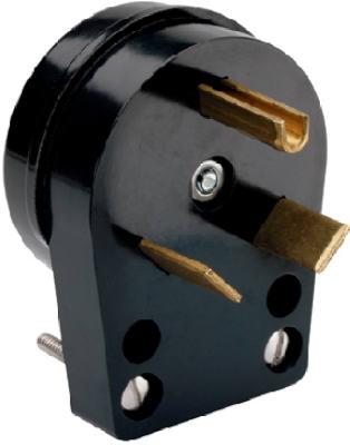 30A 125V BLK Trail Plug