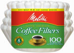 100CT 4CupBasket Filter