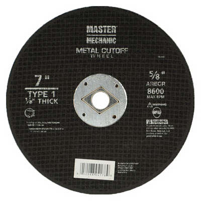MM 7x1/8 MTL Wheel