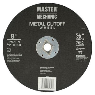 MM 8x1/8 MTL Wheel