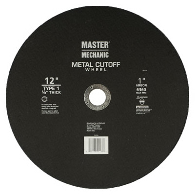 MM 12x1/8x1 MTL Wheel